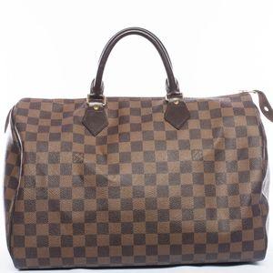 Authentic Louis Vuitton Speedy 35 Handbag